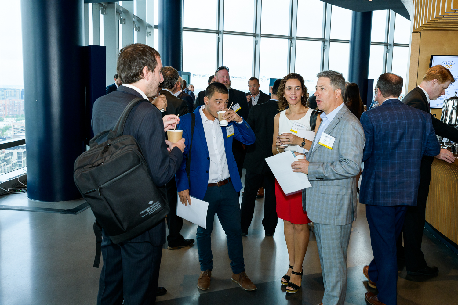 Networking at acquisition innovation CXO Tech Forum