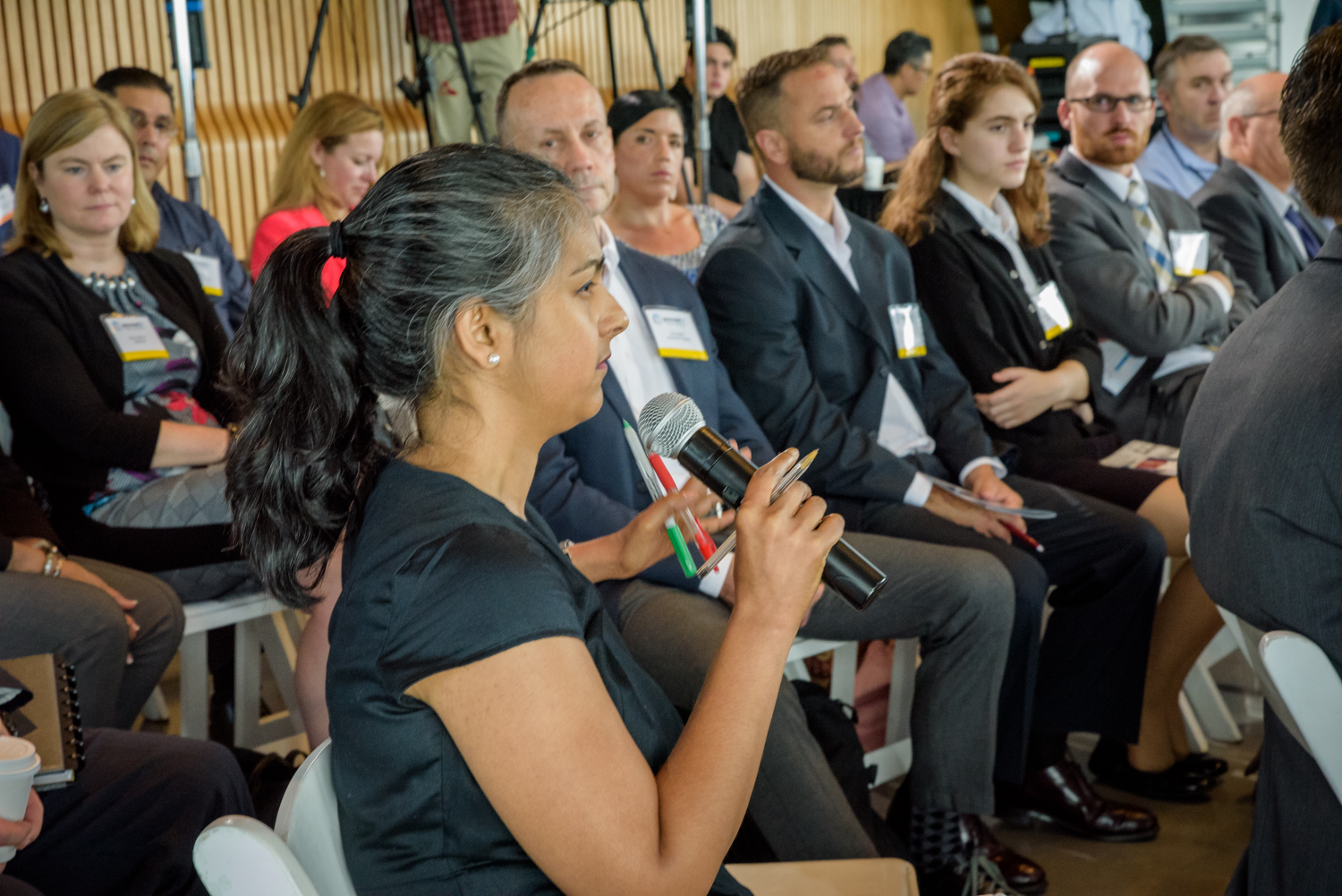 State of Cyber CXO Tech Forum attendee asks a question
