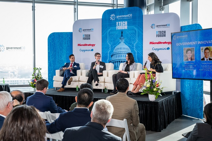 CXO Tech Forum panelist discussion