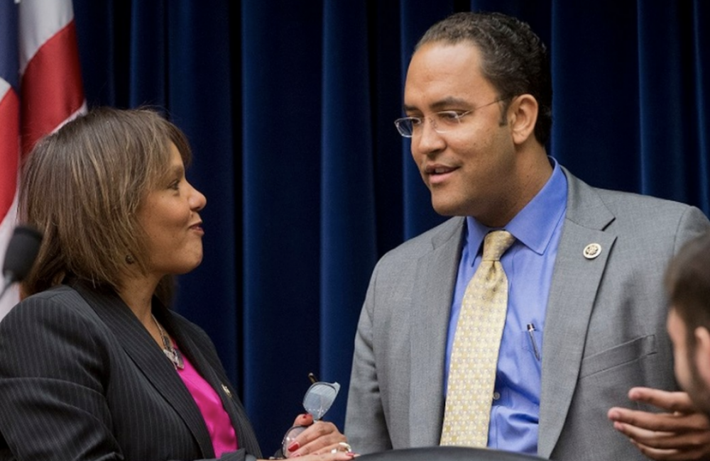 U.S. Reps. Will Hurd and Robyn Kelly
