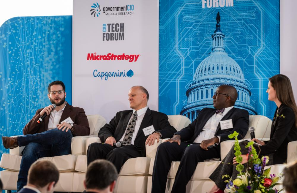 In-Q-Tel's Paulo Dutra, DHS Douglas Maughan, Army Research Lab Jaret Riddick at CXO Tech Forum: Uncle Sam Meets Silicon Valley