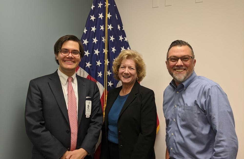 HHS CISO Janet Vogel and Deputy CISO Chris Bollerer