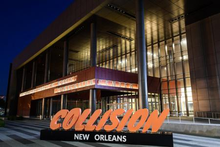 The Ernest N. Morial Convention Center following day two of Collision 2018 in New Orleans
