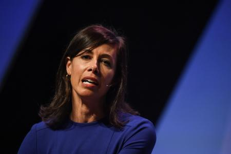 Jessica Rosenworcel, Commissioner, Federal Communications Commission on the centre stage during day three of Collision 2018 at Ernest N. Morial Convention Center in New Orleans. Photo by Diarmuid Greene/Collision via Sportsfile