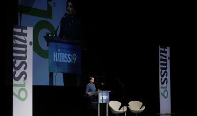 Seema Verma, Centers for Medicare & Medicaid Services Administrator, discusses interoperability and patient engagement at the HIMSS19 Global Conference & Exhibition in Orlando, Florida.
