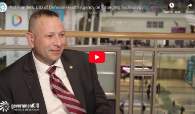 Pat Flanders, CIO at the Defense Health Agency