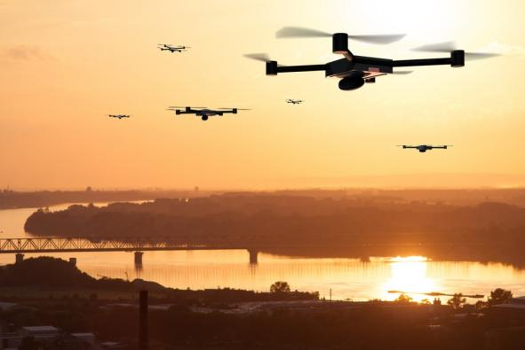 Hot Clicks: Drones are Causing Air Traffic Havoc
