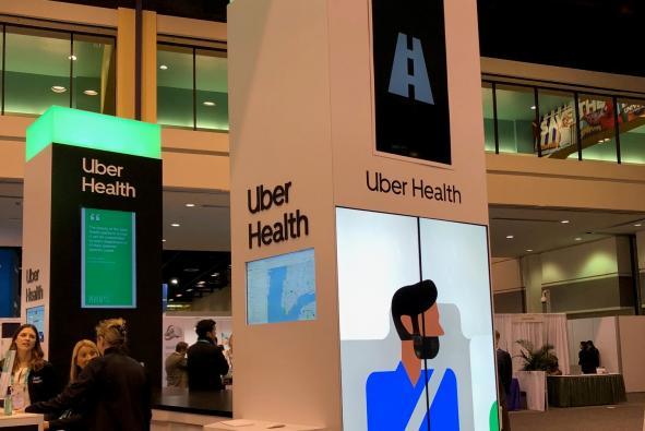 Uber Health allows healthcare professionals to call and manage patient transportation to healthcare facilities.