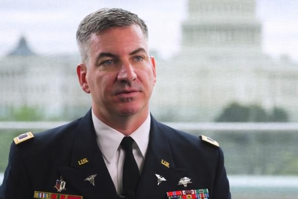 Col. Richard Wilson, chief of the Solution Delivery Division