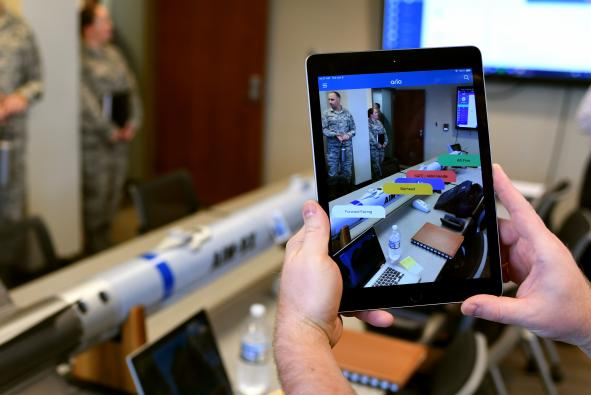 Air Force Exploring Innovative Uses of Augmented Reality