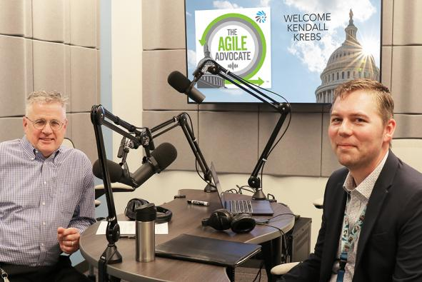 Listen: Kendall Krebs, Technical Advisor for Infrastructure and Operations, Veterans Affairs