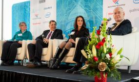 CXO Tech Forum-  Roselie Bright, George Chambers, Sezin Palmer and Dr. Don Rucker