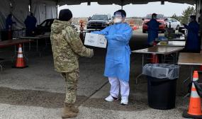 How Defense Health Medical, Tech Aid is Aiding the National COVID-19 Response